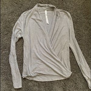 Lululemon Criss across Yoga Shirt
